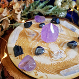 Peace & Protection Fox Crystal Grid Set