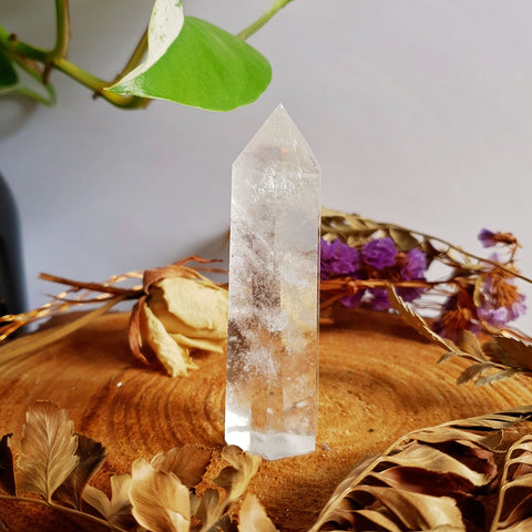 Clear Quartz Polished Point #4