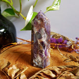 Dream Amethyst - Chevron Amethyst - Polished Point #4