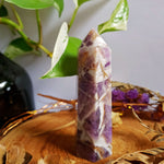 Dream Amethyst - Chevron Amethyst - Polished Point #7