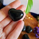 Black Obsidian Polished Heart