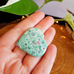 Ruby Fuchsite Heart