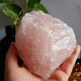 Rose Quartz Raw Chunk #3