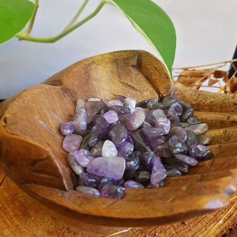 Amethyst Tumbled Chips