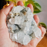 Apophyllite With Stilbite Cluster #10