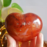 Carnelian Polished Heart #3
