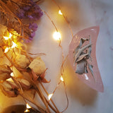 Rose Quartz Moon Trinket Bowl #3
