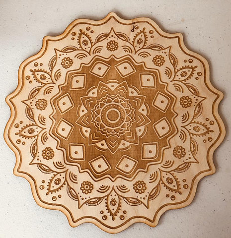 Grid Board - Mandala