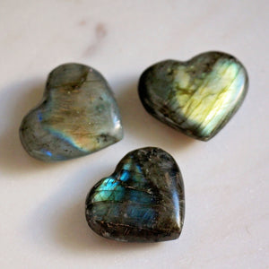 Labradorite Heart - Small