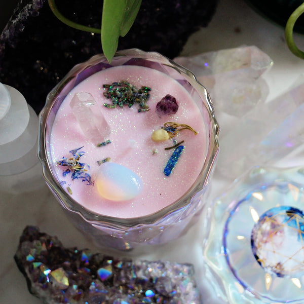 Limited Edition - The Oracle - Crystal Soy Candle