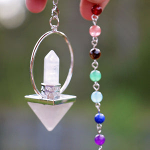 Pendulum - Pyramid - Clear Quartz