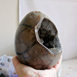 Septarian Dragon Egg Geode