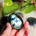 Labradorite Polished Palm Stone - Small