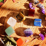 Square Polished Chakra Set