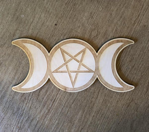 Grid Board - Triple Moon Pentagram