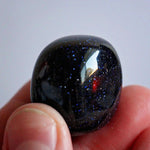 Blue Goldstone Tumbles