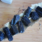 Black Tourmaline - Raw - Large