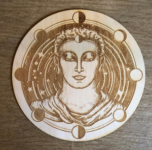 Grid Board - Buddha Moon Phase