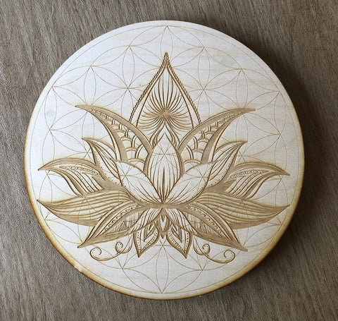 Grid Board - Flower Of Life - Lotus