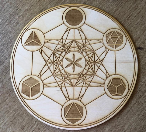 Grid Board - Metatrons Cube