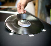 Framing Process for Vinyl Record Frames, CD Frames and DVD Frames