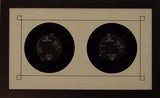 "7"" 45 Double Vinyl Record Frame - Frame My Collection"