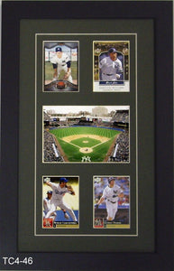 Four Trading Card Frame with Photo - Frame My Collection