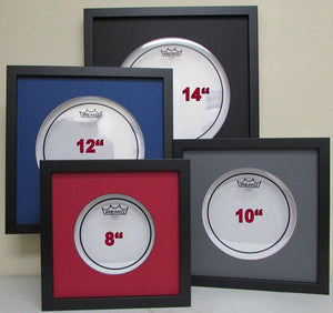 "10"" Drum Head Frame - Frame My Collection"
