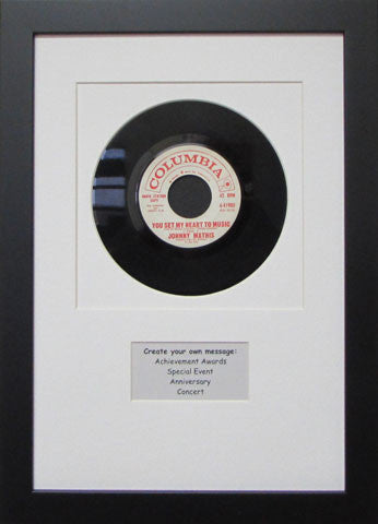 7 Quot Vinyl Record Display Frames Frame My Collection