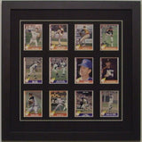 Twelve Trading Card Frame - Frame My Collection