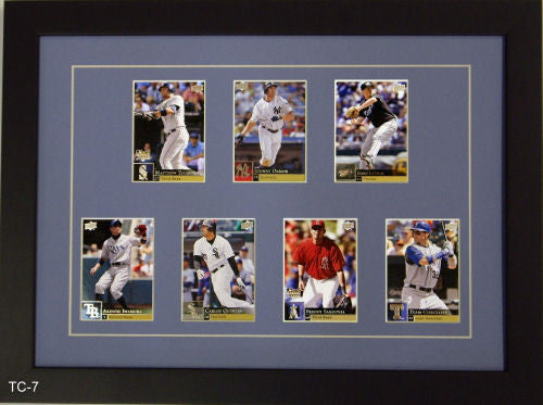 Seven Trading Card Frame - Frame My Collection