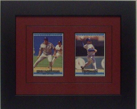 Two Trading Card Frame - Frame My Collection