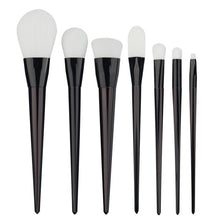 Professional 7pcs Makeup Brushes Set Foundation Brushes Rose Gold