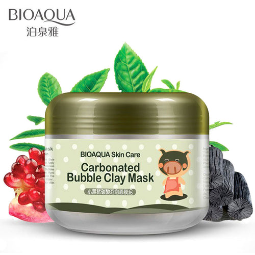 Carbonated Bubble Clay Face Mask Nutrition Repair Face Cream Whitening Hydrating Moisturizing Facial Mask