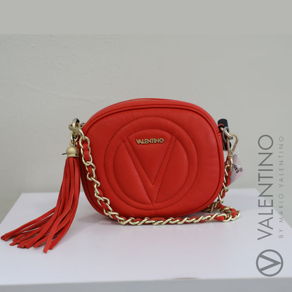 Mini Logo Leather Crossbody