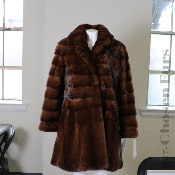 Danish Mink Fur Coat