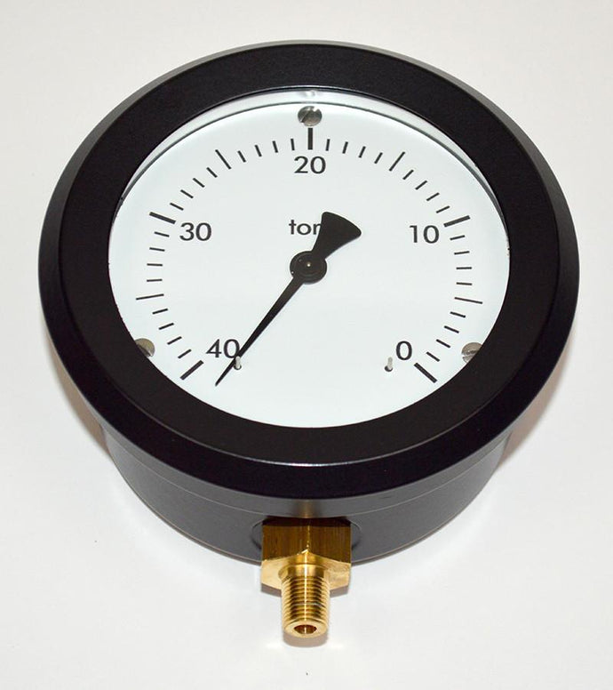 Analog Vacuum Gauge - NukeTrain - Radiation Safety Training