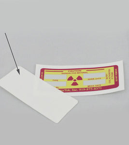 Clear Cover for Radiation Handle Label - NukeTrain - Radiation Safety Training