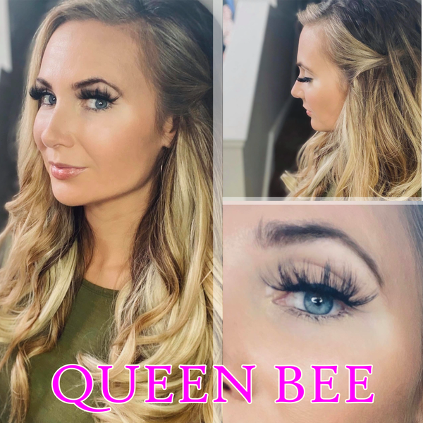 Queen Bee Boujie Bee Luxury Mink Eyelashes