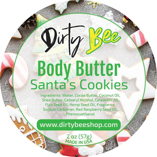 Santa's Cookies 2oz Body Butter