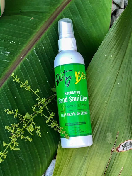 Coconut Lime Hand Sanitizer Spray | 4oz
