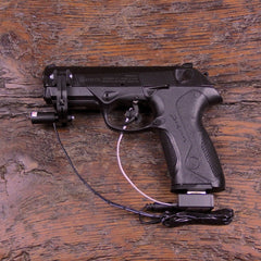 Example of Add-On with a Beretta 9mm (Pistol Not For Sale)