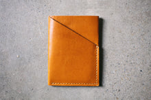 Leather Minimal Wallet - Tan