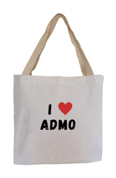 I Luv Admo / Eco Canvas Tote