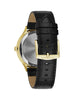 WN1018 Men's Black Tie Watch