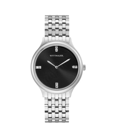 WN4097 Women's Black Tie Watch