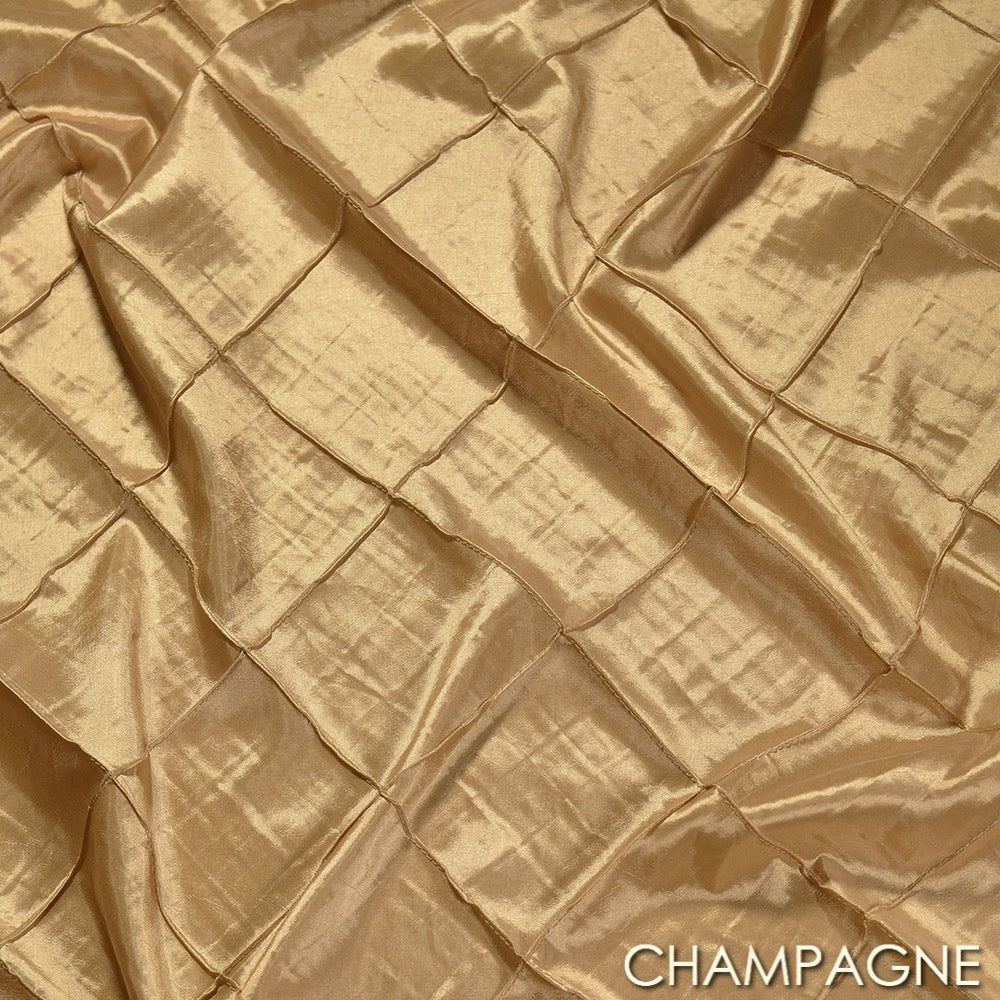 Pintuck Taffeta Chair Ties - 29 West Linen
