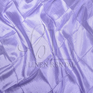 "Lavender 4"" Pintuck Taffeta Table Linen"