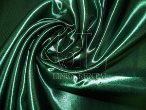 Hunter Green Satin Sample Swatch