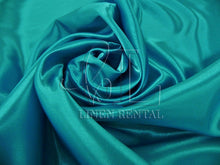 Jade Satin Table Overlays